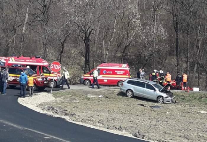 Accident foarte grav în Mureş! Sunt mai multe victime. FOTO