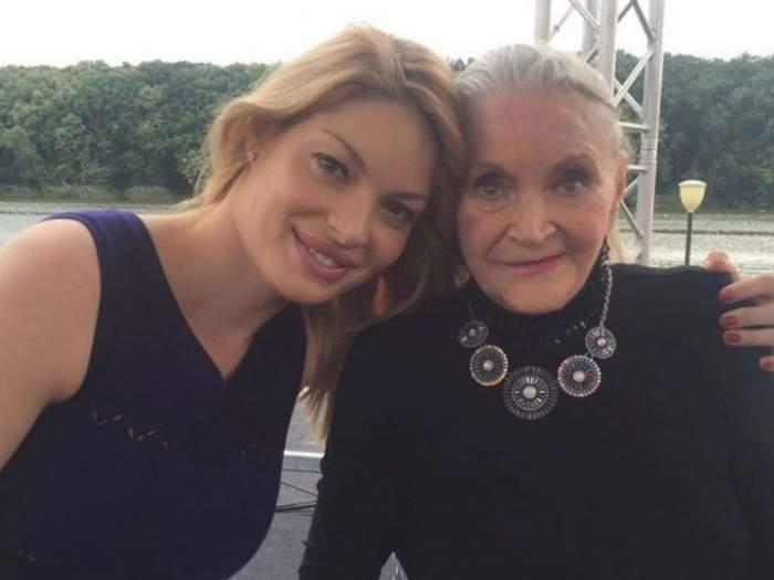 Valentina Pelinel a vizitat-o pe Zina Dumitrescu, în urmă cu câteva zile. Care a fost ultimul cadou pe care i l-a adus