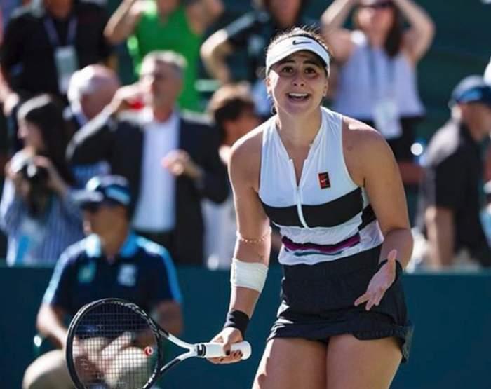 Bianca Andreescu, noua stea din tenis, arată super hot. Sportiva de 18 a încins imaginaţia bărbaţilor