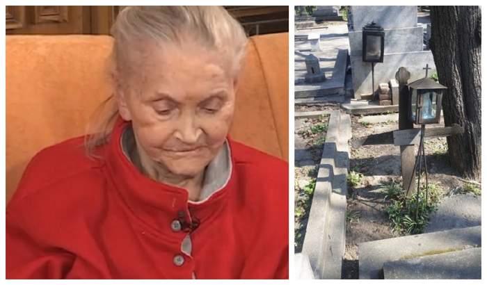 Unde se află mormântul pregătit pentru trupul neînsufleţit al Zinei Dumitrescu! FOTO