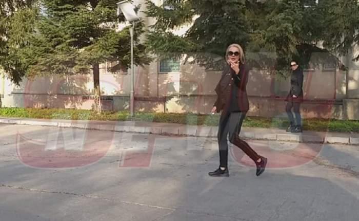 Dana Săvuică nu a fost lăsată să o vadă pe Zina Dumitrescu, la INML! Vedeta este răvășită de durere. VIDEO PAPARAZZI