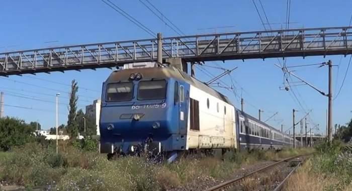 Un copil de 2 ani şi jumătate a fost călcat de tren în Sinaia