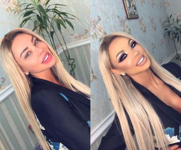 Cum arată Bianca Drăguşanu fără make-up. Diferenţa este colosală!
