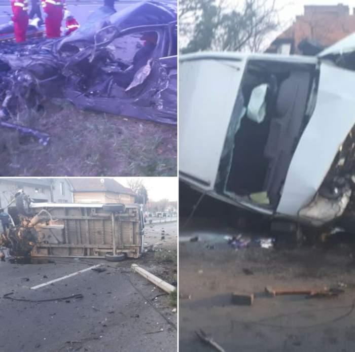 Accident teribil în această dimineaţă, în Târgu Mureş. Două persoane au murit