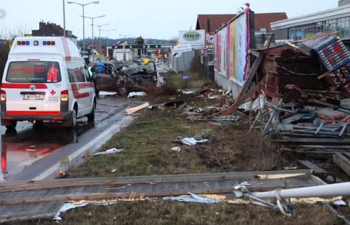 Soferiţă româncă surprinsă beată la volan! A făcut dezastru pe străzile din Austria / VIDEO