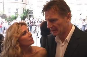 """Celebrul actor Liam Neeson, declarații dureroase despre moarte soției sale: """"Ea a fost...lumea mea"""""""