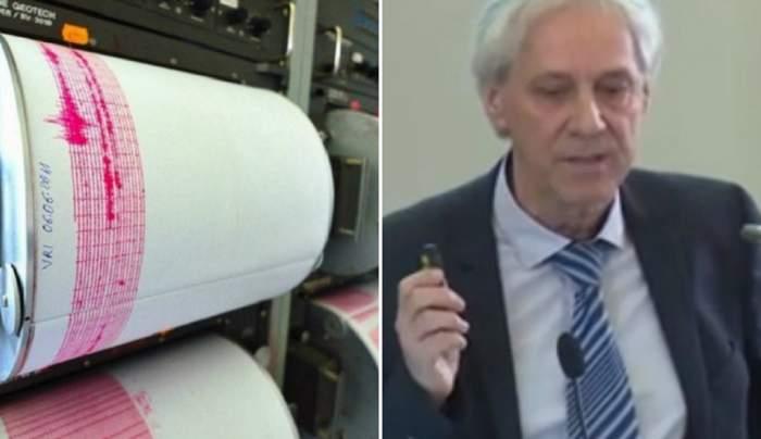 """România va avea o """"grupare de cutremure mari""""! Anunţ din partea directorului INFP, Mircea Radulian. VIDEO"""