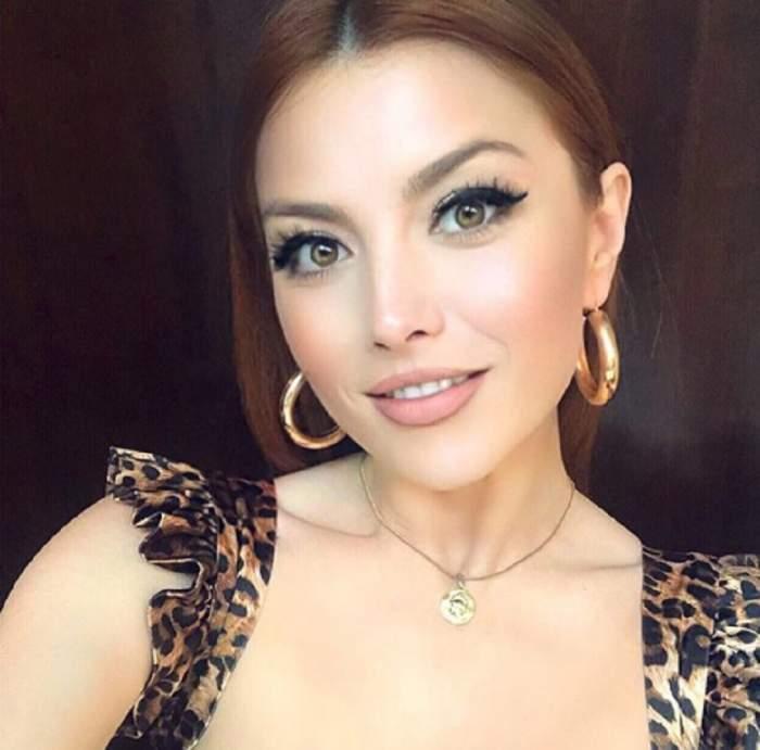 FOTO / Elena Gheorghe și-a schimbat radical look-ul, pentru noul videoclip! Artista a renunțat la roșcat