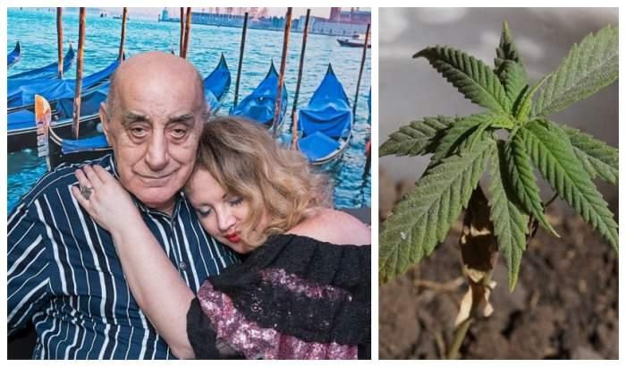 """Oana Lis se gândeşte să-i dea soţului ei, Viorel, cannabis medicinal. """"Să vezi ce relaxat o să fie"""""""