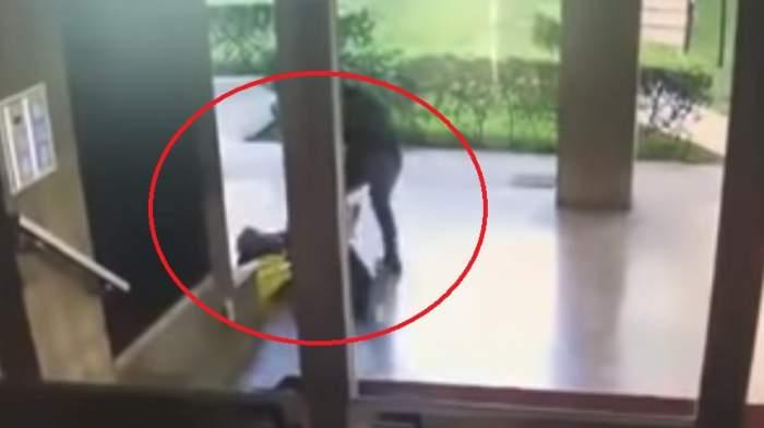 VIDEO / Un interlop român a snopit în bătaie un bătrân din Italia! A fost despăgubit cu doar 50 de euro