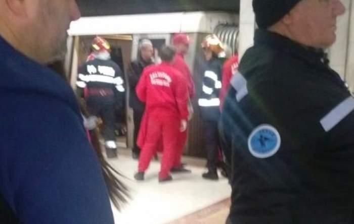 Persoană lovită de metrou, la stația Lujerului. Se intervine de urgență