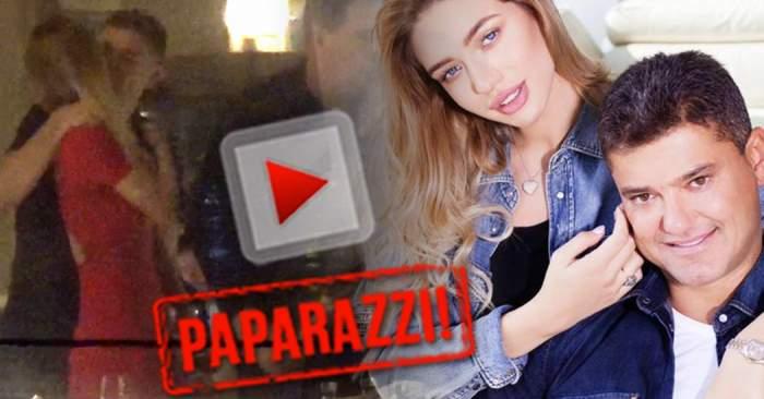 VIDEO PAPARAZZI / Dragostea are chipul lor! Cristian Boureanu şi Laura Dincă au dat frâu liber sentimentelor, într-un restaurant de lux