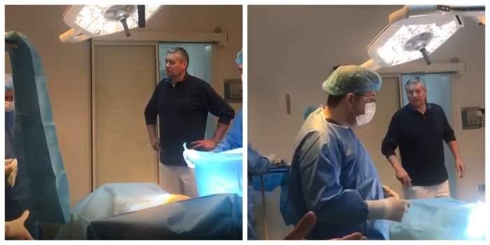 Scandal la Spitalul din Craiova, după ce un medic a intrat în sala de operaţii cu hainele de stradă. VIDEO