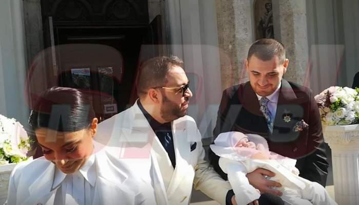 """VIDEO / Florin Salam, primele declarații după botezul nepotului: """"Îmi doresc să ajungă mai tare ca mine"""""""