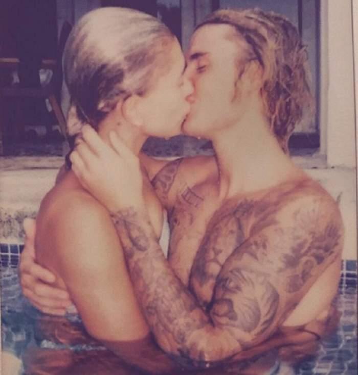 A anunțat recent că suferă de depresie, acum își lovește proaspăta soție în stradă? Scene halucinante cu Justin Bieber