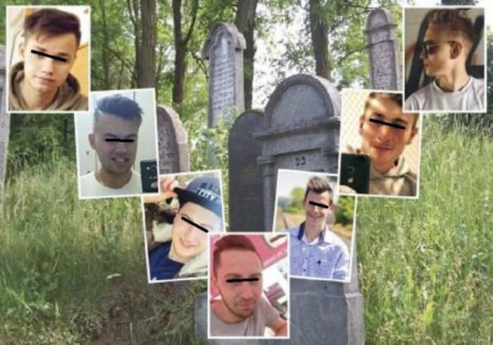 Şase dintre cei şapte tineri care au batjocorit o fată de 14 ani, în cimitir, au fost lăsaţi liberi! Părinţii au renunţat la luptă