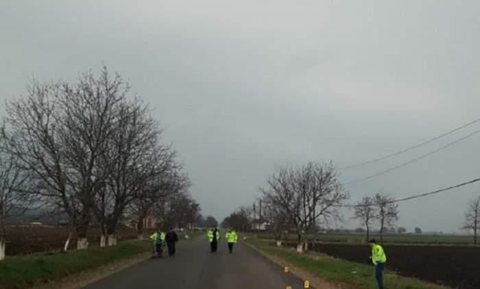 Descoperire macabră pe un drum naţional din Botoşani! Un paznic a fost găsit mort, întins pe carosabil