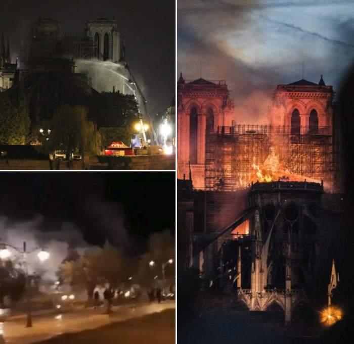 Coincidenţă stranie, în timpul incendiului de la Catedrala Notre-Dame. O mare moschee din Ierusalim a luat foc în aceeaşi clipă / VIDEO