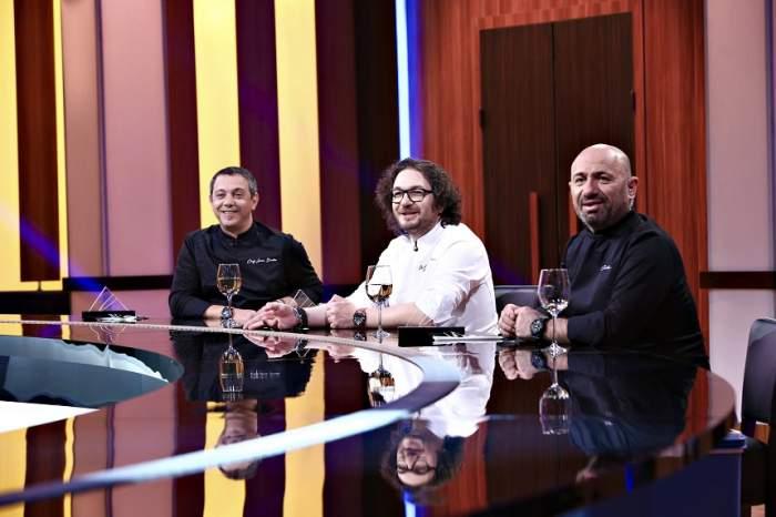 Chefii Bontea, Dumitrescu și Scărlătescu au început filmările  pentru un sezon special Chefi la cuţite - Familii la cuțite