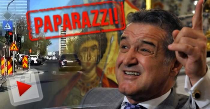 VIDEO / Gigi Becali, filmat într-o ipostază scandaloasă! La un pas de tragedie