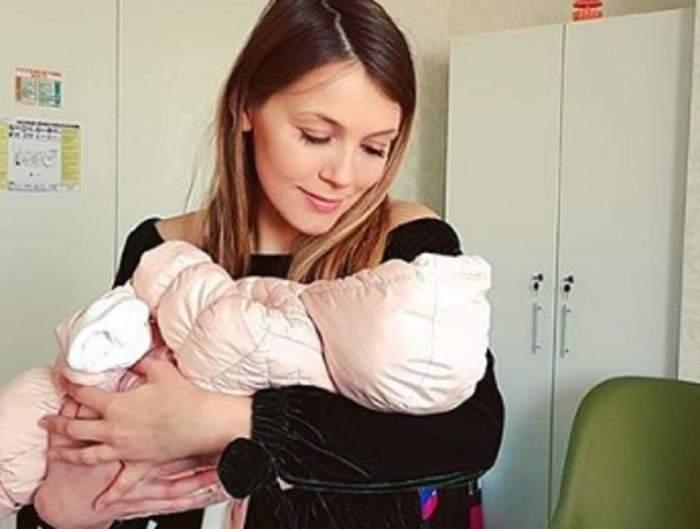 """Andreea Ibacka, pe ultima sută de metri cu botezul micuței Namiko: """"Repetiții"""""""