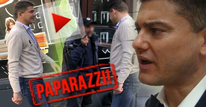 PAPARAZZI / Cristian Boureanu, într-o ipostază incredibilă, în plină stradă! Cum a fost filmat milionarul!