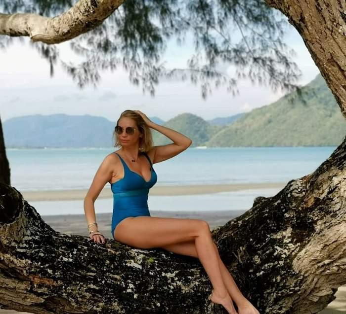 Ileana Badiu, vacanţă de lux cu peripeţii! Vedeta s-a ales cu piciorul bandajat. VIDEO