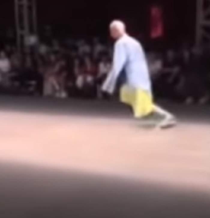 Scene șocante la o prezentare de modă! Un fotomodel a murit în timpul defilării