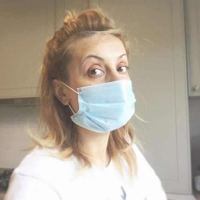 Simona Gherghe, bolnavă! Însărcinată în 32 de săptămâni, vedeta şi-a luat măsuri speciale