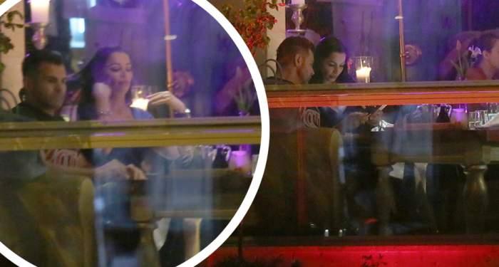 VIDEO PAPARAZZI / Brigitte Năstase și Florin Pastramă, ipostaze romantice, într-un restaurant din Capitală! Au pus la cale detaliile nunții, la ceas de seară