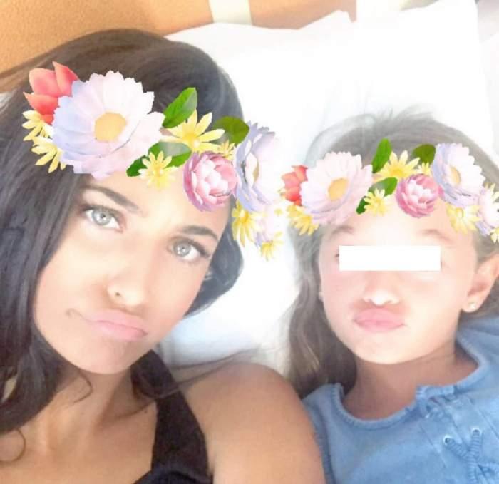 """Antonia, lecții de machiaj pentru fiica ei, Maya, în vârstă de 8 ani: """"O las să experimenteze"""""""