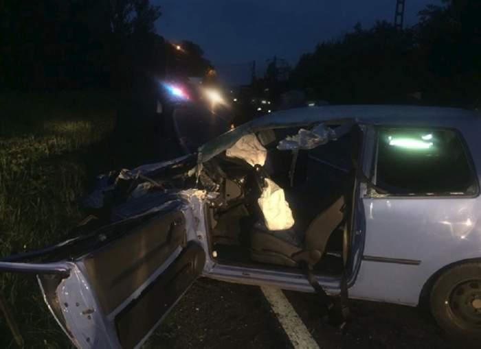 A adormit la volan şi a provocat un accident grav, pe DN71! Ce alcoolemie avea şoferul vinovat