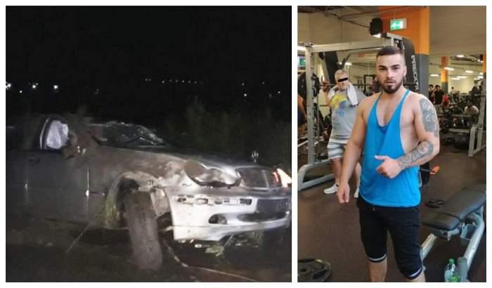 Cine este tânărul care a murit în cumplitul accident din Iași. Narcis mergea la aeroport, să se întâlnească cu iubita lui!