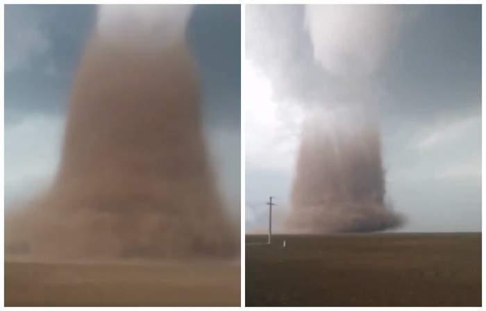 România, în pericol de a fi lovită de tot mai multe tornade ca cea produsă în Călărași! Care este explicația meteorologilor
