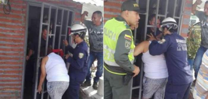 O femeie a rămas prinsă cu capul în poarta unei case timp de cinci ore, după ce a încercat să-şi spioneze vecina