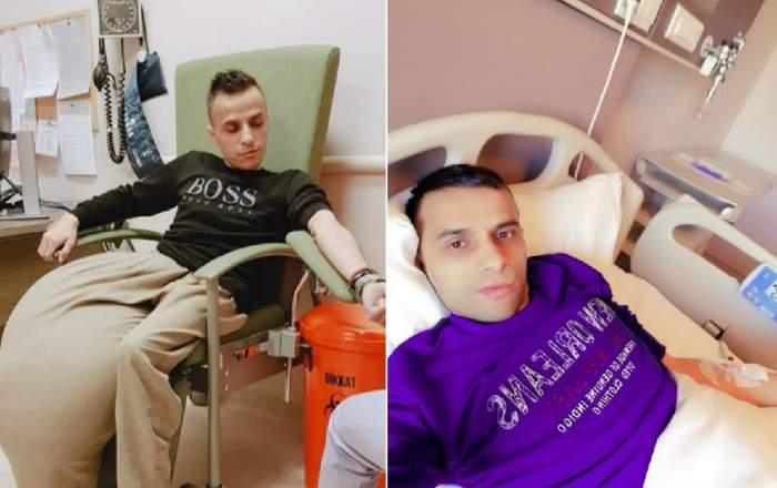 Constantin Preda, tânărul cu tumoare de 20 de kilograme pe picior, operat în Turcia, a murit