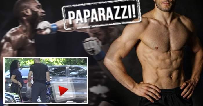 VIDEO PAPARAZZI / Cel mai dur bărbat din România se pregăteşte să devină tătic pentru a doua oară! Imagini exclusive cu soţia acestuia însărcinată