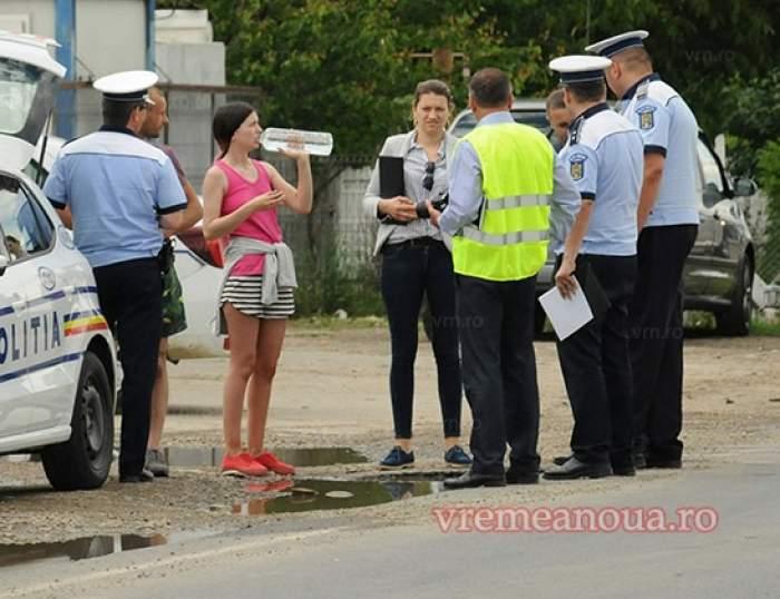 Polițist din Vaslui, accidentat de un șofer pe care îl oprise în trafic