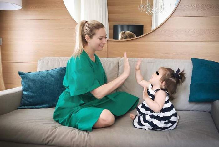 """Laura Cosoi şi soţul, pregătiri pentru al doilea copil: """"Pentru Rita ar trebui să facem asta"""" / VIDEO"""