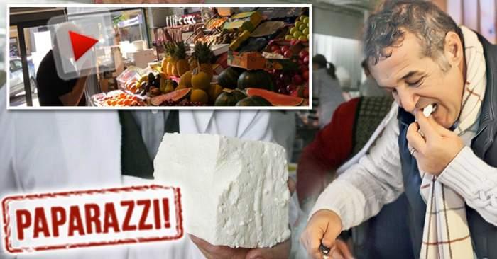 VIDEO PAPARAZZI / Gigi Becali e cu brânza de oaie, dar stai să vezi ce preferinţe are un alt greu din fotbal! Totul depinde de gust şi de miros