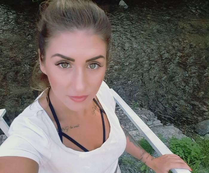 """Alexandra, fostă concurentă la """"Insula Iubirii"""", imagine şocantă cu ea pe patul de spital! A făcut două operaţii în aceeaşi zi"""