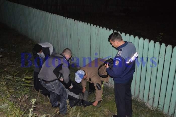Bărbat din Botoșani, găsit mort într-un șanț. S-a înecat cu noroi