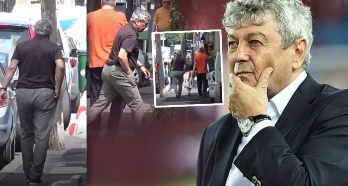 """PAPARAZZI / Mircea Lucescu, """"faultat"""" pe stradă! În viaţa reală nu-i ca-n fotbal"""