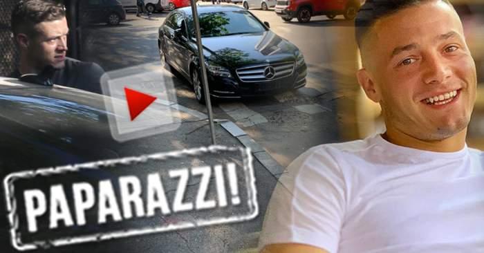 VIDEO PAPARAZZI / Are tupeu pe terenul de fotbal, dar stai să vezi de ce e în stare în trafic! Gabi Torje a sfidat Codul Rutier şi şi-a văzut de treabă
