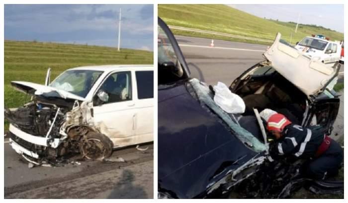 Accident cumplit în Giurgiu. O persoană a murit și alte 3 au fost rănite