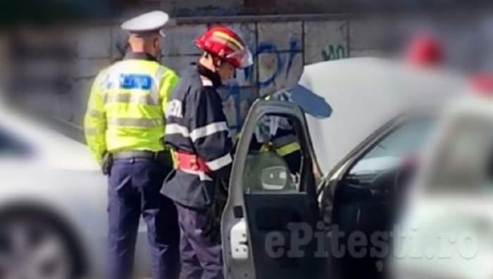 Tragedie în Pitești! Un bărbat s-a aruncat de la etajul 8 al unui bloc