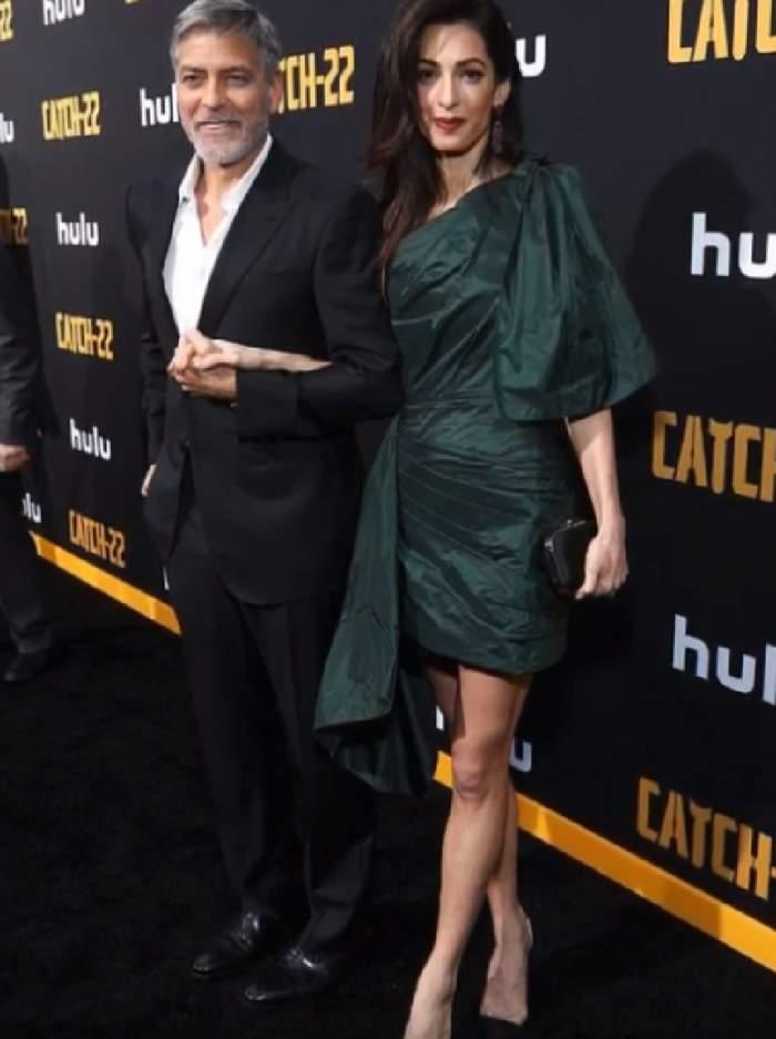 Amal Clooney, apariție șocantă! Soția lui George Clooney a devenit îngrijorător de slabă