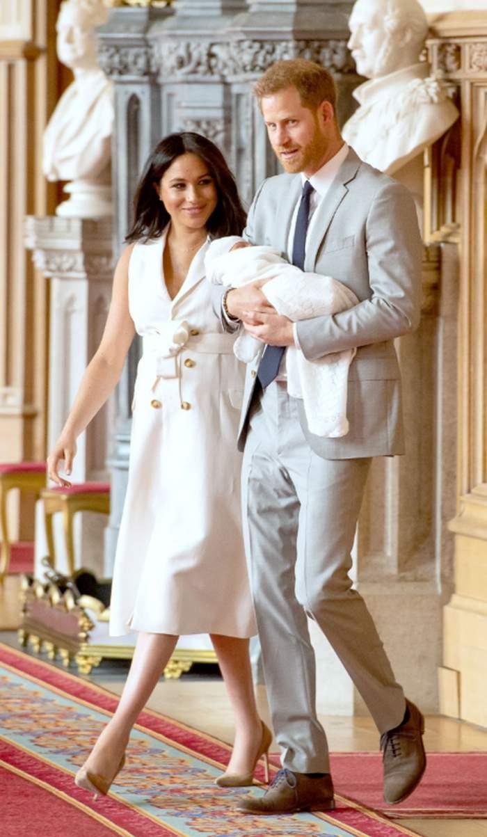 Oau! Ce frumos! Ce semnifică numele ales de Meghan Markle şi de Prinţul Harry pentru băieţelul lor