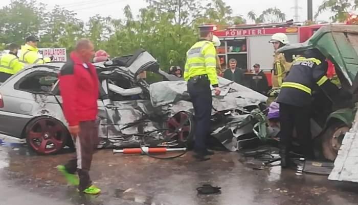Accident grav pe DN1! Un bărbat a murit pe loc