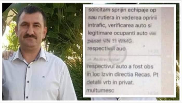 Răsturnare de situaţie! Mesajul primit de poliţistul din Timiş, înainte de a pleca în misiunea în care şi-a găsit sfârşitul